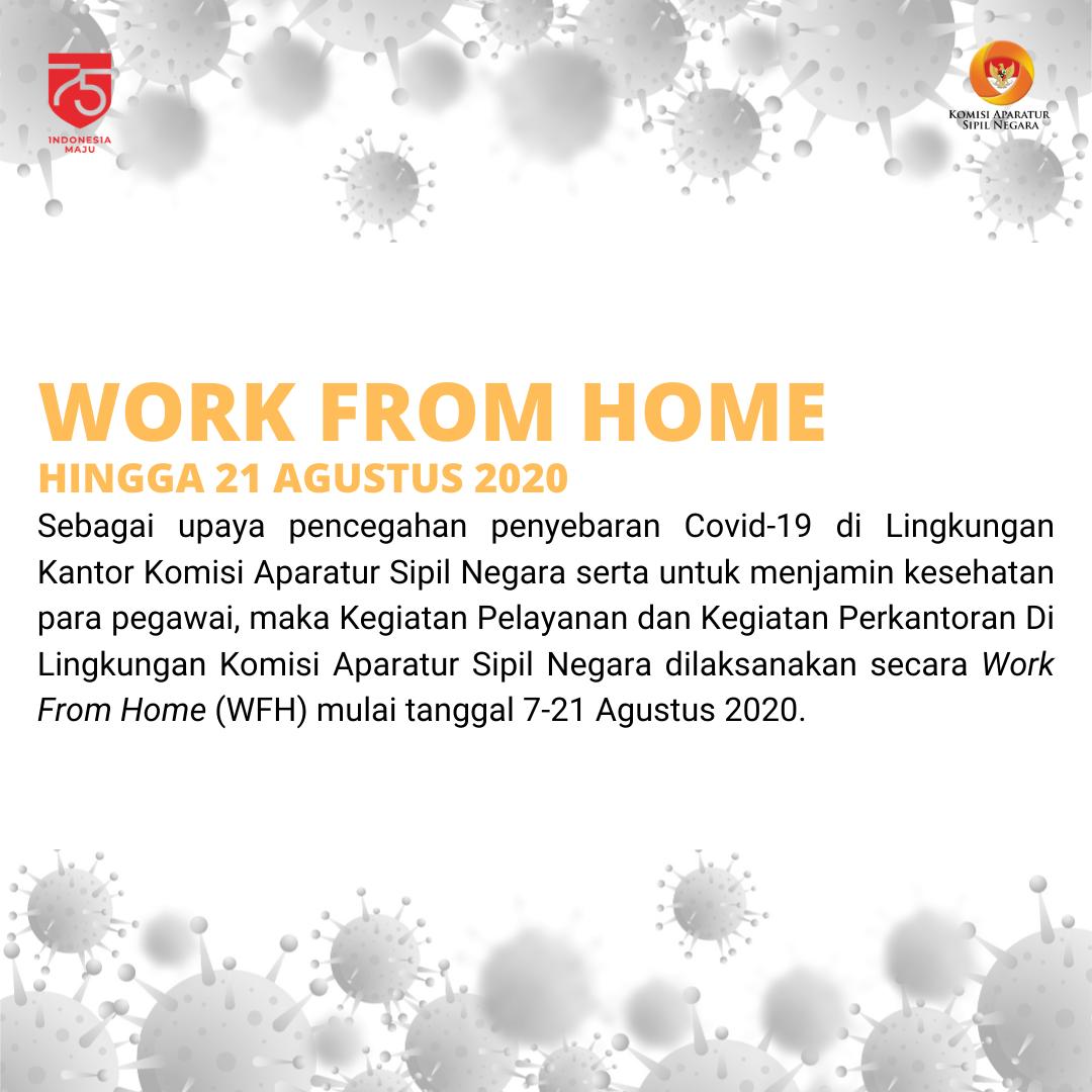 Pegawai KASN Terapkan Work From Home Usai Jalani Rapid Test